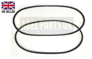 PAIR FAN BELT FOR JCB 3CX , 4CX (PART NO. 02/201291)